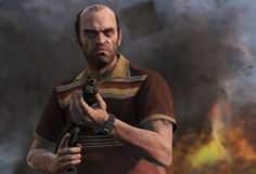 Will you be playing as Trevor the most in GTA V?