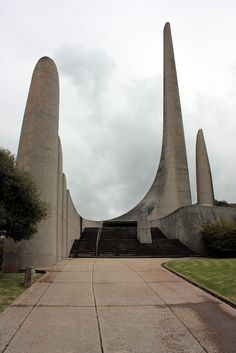 Afrikaanse Taalmonument (Afrikaans Language Monument), Paarl, South Africa by Kleinz1, via Flickr