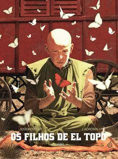 Os Filhos de El Topo 2 - Abel de Alejandro Jodorowsky e ilustração por Jose Ladronn. Lançamento banda desenhada por Arte de Autor em português, julho 2020...
