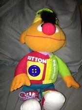 Tyco Sesame Street Muppets Dress Me Up Plush Ernie
