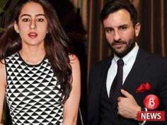 Saif Ali Khan nervous for Sara Ali Khans debut in Bollywood