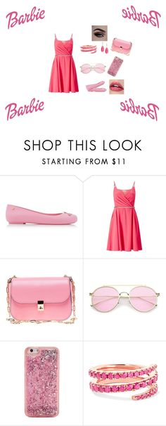 """Barbie life in the dream house"" by bhanzade on Polyvore featuring Melissa, Miss Selfridge, Valentino, ban.do, Anita Ko and Saks Fifth Avenue"