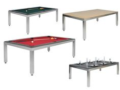 Pool Table + Dining Room Table