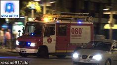 Barcelona fire department // Bombers de Barcelona Parc de Montjuic