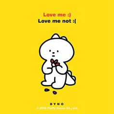 Dyno 3 | by fluffyhouse_silvia  Love me:) Love me not:(   -DYNO  #Dyno #FluffyHouse #Love