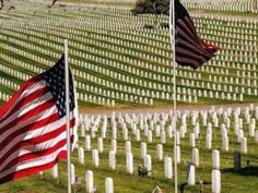 Arlington National Cemetery - lest we forget how many gave their lives for the freedoms we enjoy.