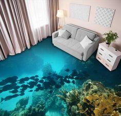 Wallpaper Paste, Paper Wallpaper, Self Adhesive Wallpaper, Floor Murals, Wall Murals, Sea Floor, Vinyl Doors, Traditional Wallpaper, Deep Sea