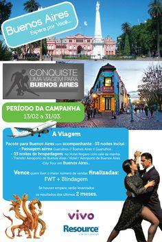 Campanha de Buenos Aires - desenvolvida para a empresa Resource