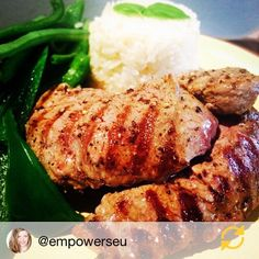 """""""Thank you @empowerseu for sharing your photo of your LiveLean Premium UK Fillet Steak cooked with @lucybeecoconut Coconut Oil Rice & Green Beans. Looks delicious!  Hope you're enjoying your @thebodycoach #90daysssplan! Visit our website (link in the bio) for loads of fresh UK reared meat freshly caught fish snacks superfoods & much much more!! #British #glutenfree #diet #musclefuel #lchf #eatclean #cleaneating #healthyeating #nutrition #protein #farmtofork #fitspiration #foodporn…"""