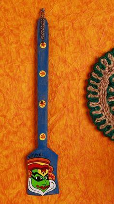 A Krazy Mug: Hand painted Key Holder - Kathakali Blue  #handcrafted…