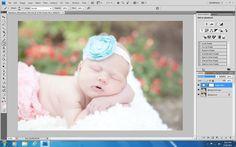 photoshop tricks for newborn photos