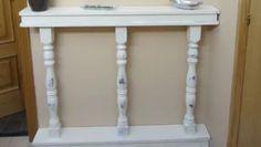 Hacer un mueble consola con balaustres #bricolaje #mueble