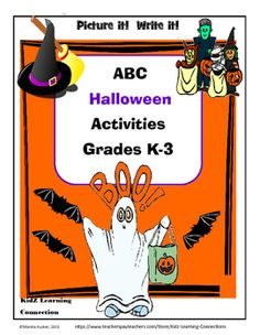Halloween fun through the alphabet! This fun booklet has Halloween activities for each letter of the alphabet. Each activity is a science, social studies, math, English language arts, or school counseling application. A fun booklet that students in grades K-3 will enjoy.Suggestions for Use:1.
