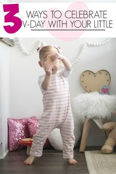 fun, easy and inexpensive valentine's day activities and ideas for toddlers // valentines day games for toddlers // baby v-day ideas
