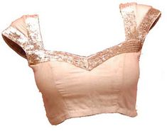 princess cut designer front and back saree blouse design gold copper peach #weddingstoryz sequin