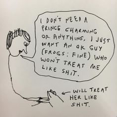 """1,913 mentions J'aime, 91 commentaires - Liana finck (@lianafinck) sur Instagram: """"Maybe not such a good attitude after all"""" Good Attitude, Word 2, Different Perspectives, My Brain, Contemporary Artists, Cool Words, Feminism, Locks, Journaling"""