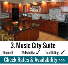 Music City Suite - Bachelorette Party Nashville - Where to Stay