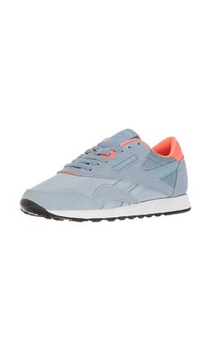4e21e57211708 64.99  - Reebok Women s CL Nylon MH Fashion Sneaker- Gable Grey Ceramic