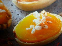 biscotti al riso - golosi con gelatina di mango
