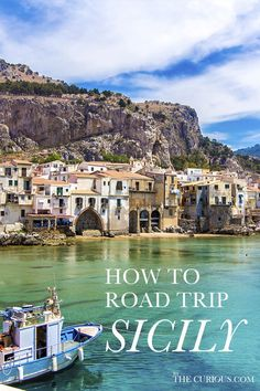 Planning a trip to Sicily? The best way to see this beautiful island is a road trip. Here are some of the best places to see and useful tips to keep in mind along the way. Italy Travel, Italy Trip, Sparkling Waters, Best Location, Beautiful Islands, Sicily, Places To See, The Good Place, Road Trip