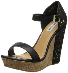Not Rated Women's Venetian Lace Wedge Sandal -- Wow! I love this. Check it out now! : Wedge sandals