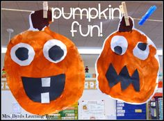 Mrs. Byrd's Learning Tree: It's Pumpkin Time! ~ Pumpkin ideas and two FREEBIES!