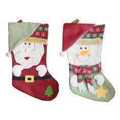Санта Клаус/Снеговик Рождественские носки подарок сумка Новогодние товары елочные украшения Украшения Подвески чулок Рождественский Декор для дома