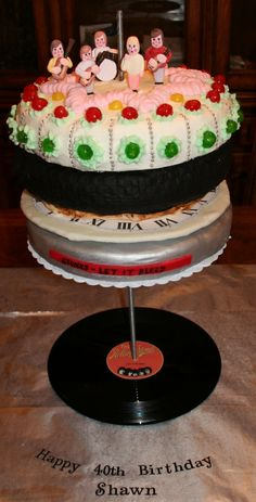 The 'Let it Bleed' Cake!!!!!