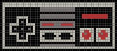 Nintendo Controller (Graph AND Row-by-Row Written Crochet Instructions) - 02