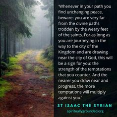 Isaac the Syrian-Early Church Fathers Church Memes, Church Quotes, Catholic Quotes, Orthodox Prayers, Orthodox Christianity, Spiritual Words, Spiritual Life, St Peregrine Prayer, Prayer For Fathers