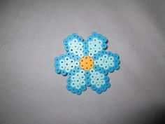 Small Daisy Perler Bead Hair Clip- Available in a Variety of Color Combinations!