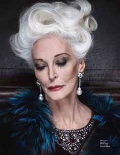 Carmen Dell'orefice, Black Drag Queen, Older Models, Advanced Style, Ageless Beauty, Famous Models, Aging Gracefully, Supermodels, Beautiful People
