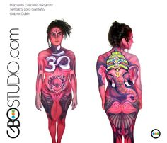 BodyPaint Costa Rica. www.GBOstudio.com