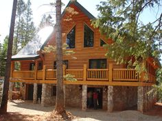 Eagle River Series Whisper Creek Log Homes