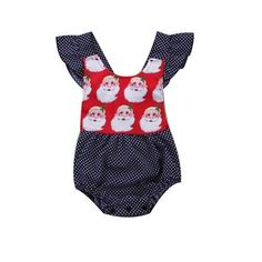 Santa Clause Baby Blouse Romper Buy it today from www.presentbaby.com  We sell a wide array of baby clothing, socks, shoes, bottles, blankets and more. For more information visit our website today.  #unigender #shoes #cheap #unisex #girl #neutral #sterili