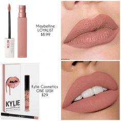 Lipstick Dupes, Lipstick Shades, Lipstick Colors, Lip Colors, Drugstore Makeup Dupes, Elf Dupes, Eyeshadow Dupes, Nude Lipstick, Batons Matte