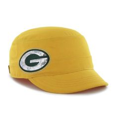 NFL Green Bay Packers Women's Sparkle Fidel Cap, Cheddar
