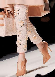 Haute Couture - Blumarine F/W 2013 Couture Mode, Dior Couture, Couture Fashion, Runway Fashion, High Fashion, Fashion Shoes, Womens Fashion, Milan Fashion, Fashion Fashion