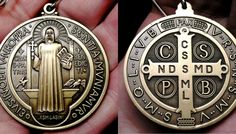 St. Benedict Medal with Exorcism & Blessing