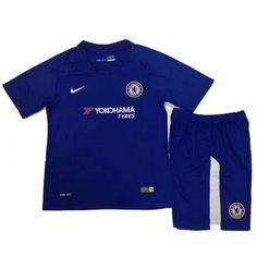 54b7effc6 17-18 Chelsea Home Children s Jersey Kit (Shirt+Short)  chelsea