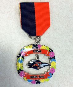 2015 UTSA Fiesta Medal. Available at RR Express, the ITC Store and the Fiesta Store
