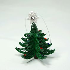 ChristmasTree Ornament  A Wonderful Quilled / by AGiftwithinaGift, $24.95