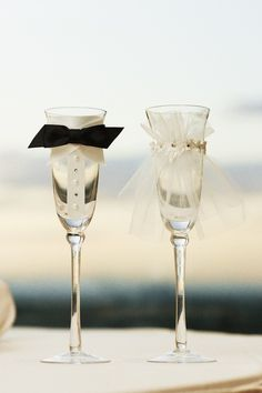 These are the ones I made you for the engagement party. I could do the same but do Ariki's in a short glass