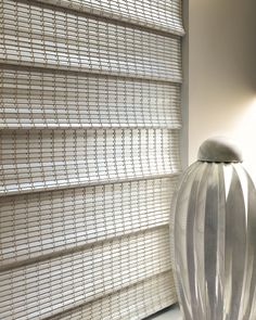 Cream Colored Bamboo Shading By Shades Creation Another Elegant Color For An Finish Window Designs Diane Hunter Douglas Provenance Woven