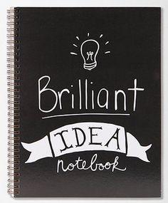 Verzamel jouw briljante ideeën
