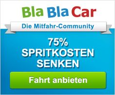 Blablacar - Mitfahrgelegenheiten