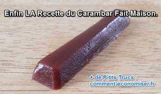 la recette du carambar maison au caramel