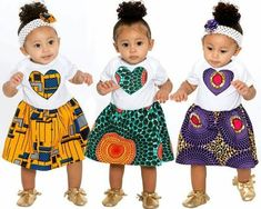 beautiful ankara styles for baby girls and littles, ankara styles for kid girls, ankara styles for girls, ankara styles for babies, beautiful and stylish ankara designs ideas for baby girls and little girls Baby African Clothes, African Dresses For Kids, African Babies, African Children, African Wear, African Attire, African Print Fashion, African Fashion Dresses, Ghanaian Fashion