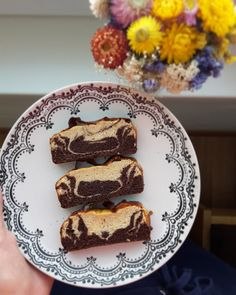 Fazuľový brownies-blondies