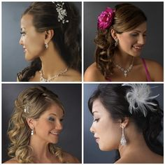 Wedding Hair Accessories for Your Bridal Party